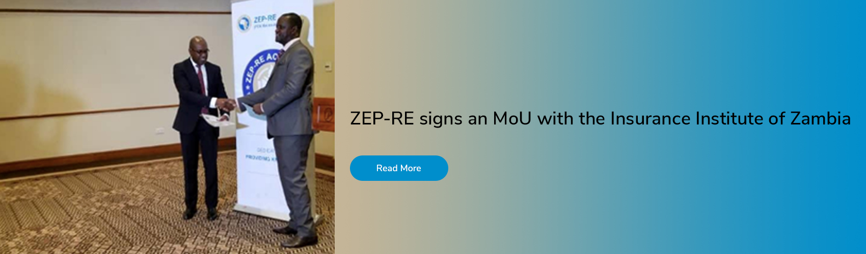ZEP-RE signs an MoU with the Insurance Institute of Zambia
