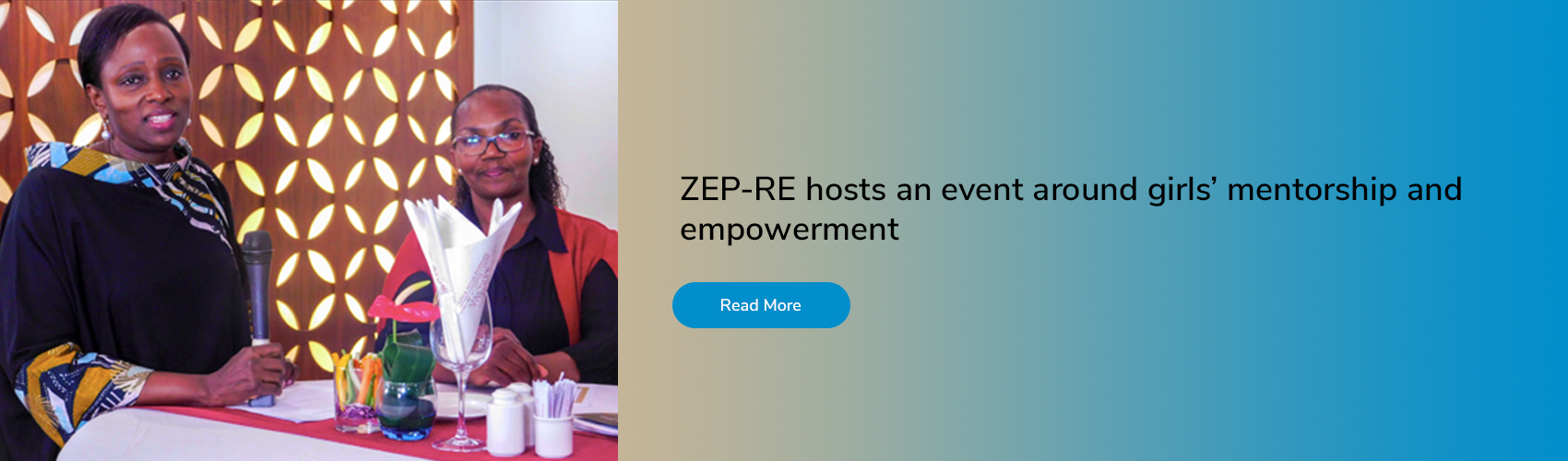 ZEP-RE hosts an event around girls' mentorship and empowerment